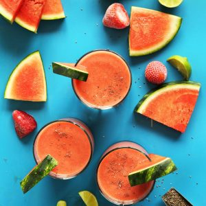 Smoothie recipe: Summer Watermelon Frosty