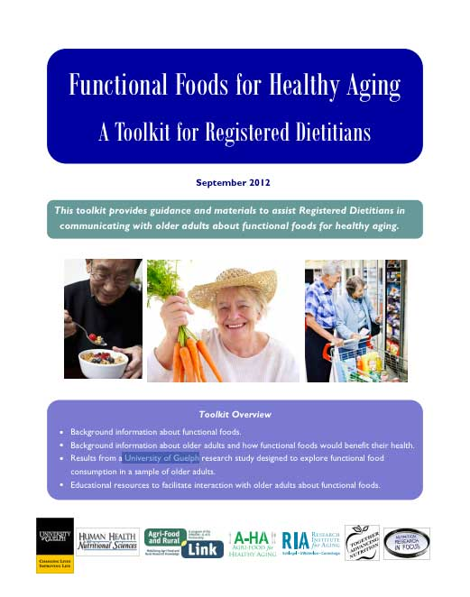 Functional Foods For Healthy Aging Toolkit