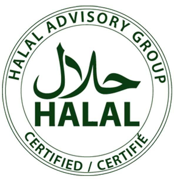 Halal Certified Seasonally Fresh