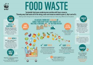 WWF Infographic on Food Waste