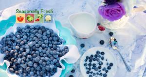 Seasonally Fresh - Beautiful blueberries