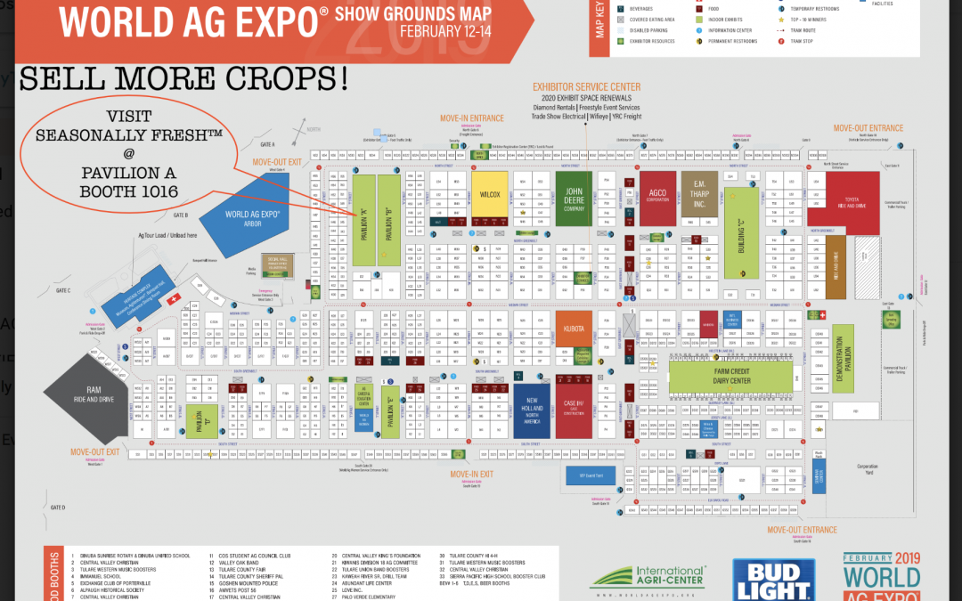 Where to find us at World Ag Expo