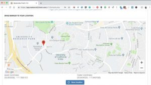 default map location