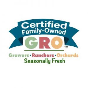 Certified Family-Owned - GRO simple mark