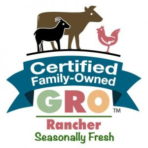 Certified Family-Owned - GRO for ranchers