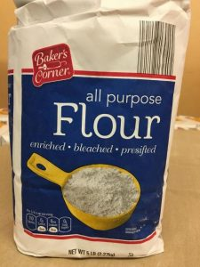 Aldi's Baker's Corner All Purpose Flour Recall image